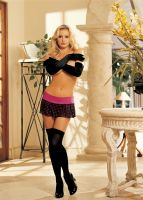H.O.T. OPAQUE THIGH HIGH STOCKINGS 90042