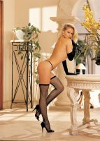 H.O.T. FISHNET THIGH HIGH STOCKINGS 90055