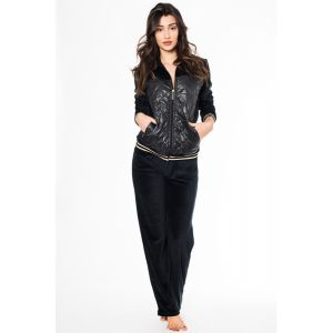 JEANNETTE CAPITONE VELOUR LOUNGE WEAR
